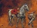 Jean Louis Ernest Meissonier - Studien eines Schimmels - 618 - Österreichische Galerie Belvedere.jpg