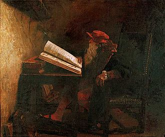 Faust - Dr. Fausto by Jean-Paul Laurens