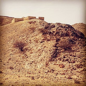 Archaeology of the United Arab Emirates - The 'Iron Age' building at Jebel Buhais