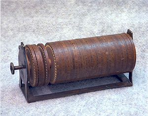 Timeline of United States inventions (before 1890) - Jefferson's disk