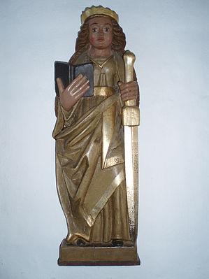 Jelling Kirke 11 Catharina af Alexandria.JPG