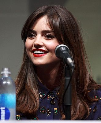 Doctor Who (series 8) - Image: Jenna Coleman by Gage Skidmore