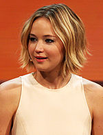 Photo of Jennifer Lawrence in 2014.