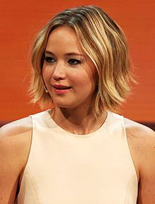 Jennifer Lawrence at 214. Wetten, dass.. ? show in Graz, 8. Nov. 2014 cropped.jpg