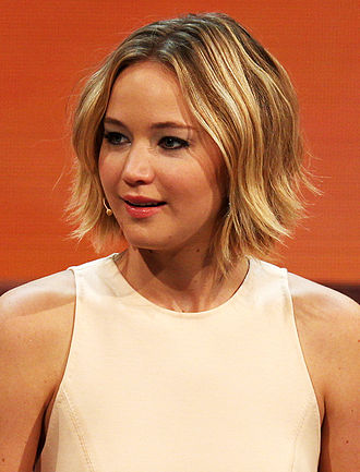 85th Academy Awards - Image: Jennifer Lawrence at 214. Wetten, dass.. ? show in Graz, 8. Nov. 2014 cropped