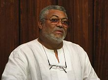 Jerry Rawlings le 18 mai 2009.