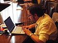 Jesús en Wiki Editatón Madrid 2014.JPG