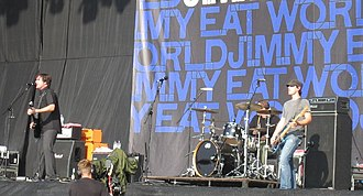 Jimmy Eat World - Jimmy Eat World performing in 2007