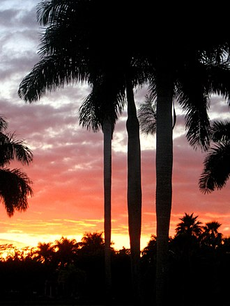 Weston, Florida -  Sundown in Windmill Ranches