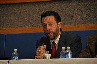 Joe Miller (Alaska politician) - Joe Miller campaigning in September 2010