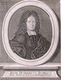 Johann Franz Buddeus German theologian
