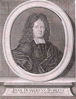 Johann Franz Buddeus - Johann Franz Buddeus
