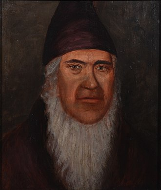 George Rapp - George Rapp as painted from memory by Phineas Staunton (1835)
