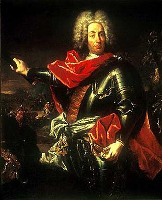 Battle of Fraustadt - Image: Johann Matthias von der Schulenburg