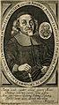 Johannes Jonston. Line engraving by C. Romstet, 1673. Wellcome V0003135.jpg