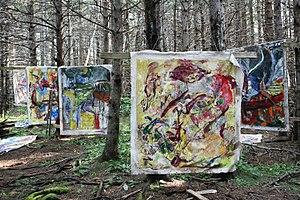 John Beardman - Studio in the Woods, 2015, Cape Breton