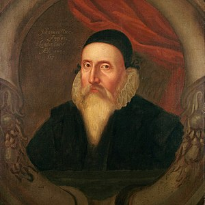 Imaginos - The English mathematician John Dee (1527-1608), another pawn of evil alien forces like Imaginos