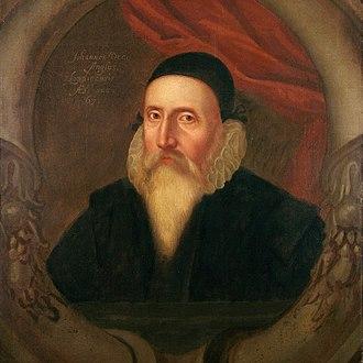 John Dee - A 16th-century portrait by an unknown artist