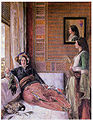 John Frederick Lewis - Hhareem Life, Constantinople.jpg