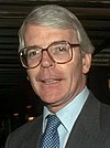 John Major, leader of the Conservative Party and Prime Minister.