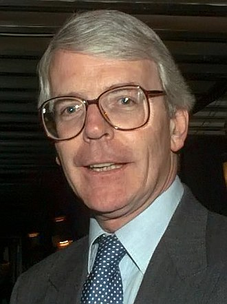 European Parliament election, 1994 (United Kingdom) - Image: John Major 1996