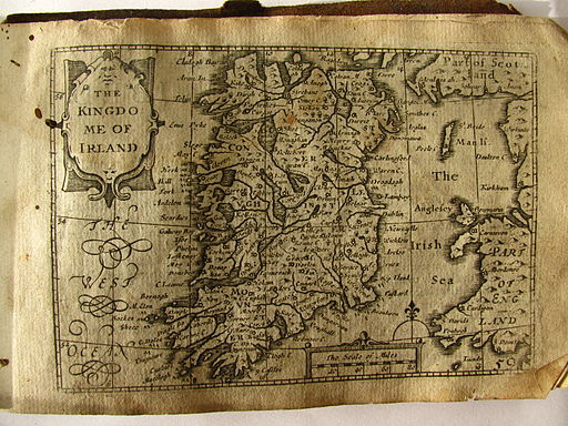 John Speed, map of Ireland