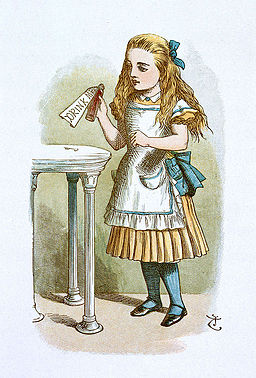 John Tenniel - Illustration from The Nursery Alice (1890) - 066110