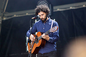 José González (singer) - José González performing at NOS Primavera Sound in Porto, Portugal, in 2015.