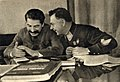 Joseph Stalin and Kliment Voroshilov, 1935.jpg