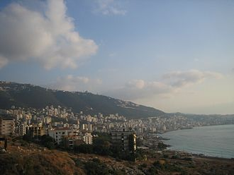 Keserwan District - Image: Jounieh Bay