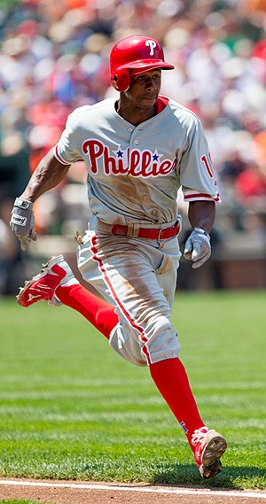 Juan Pierre - Pierre with the Philadelphia Phillies