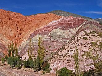 Cerro de los Siete Colores - Image: Jujuy Purmamarca P3120100