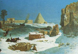 Winter in Persia