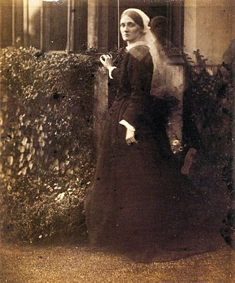 Leslie Stephen - Julia Duckworth by Julia Margaret Cameron, 1872