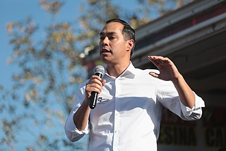 2020 Democratic Party presidential primaries - Julian Castro's formation of an exploratory committee in December 2018 was seen as the start of the campaign in earnest.