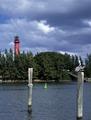 Jupiter Inlet Light, first lit in 1860, was erected on a prehistoric Indian mound, Jupiter, Florida LCCN2011633362.tif