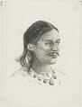 KITLV - 36B251 - Borret, Arnoldus - Hindu man - Pen and ink - Circa 1880.tif