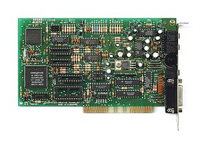 Sound Blaster - Sound Blaster 2.0 (CT1350B), without C/MS and FM chipset