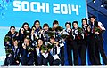 KOCIS Korea ShortTrack Ladies 3000m Gold Sochi 43 (12629816804).jpg