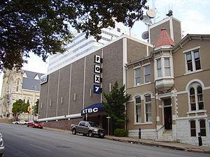 KTBC (TV) - KTBC studios, circa 2008.