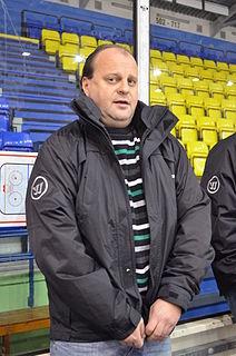 Kamil Kašťák Czech extraleague ice hockey player, ice hockey coach, and Olympic athlete