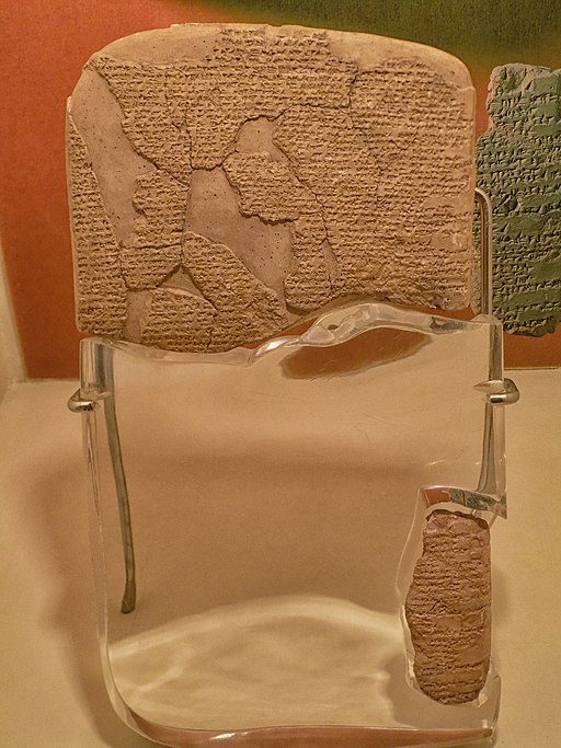 Egyptian–Hittite Peace Treaty, 1259 B.C.