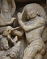 Kailasanatha Temple, dedicated to Shiva, Pallavve period, early 7th century, Kanchipuram (35) (37410200086).jpg
