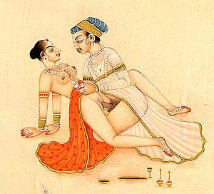 Kama Sutra Illustration