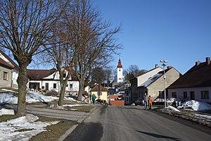 Kamenice (Jihlava District) - Image: Kamenice Center, Jihlava District