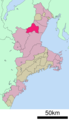 Kameyama in Mie prefecture Ja.png