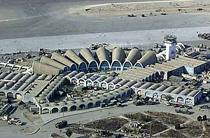 Kandahar International Airport - The airport was designed by the Americans in the 1950s