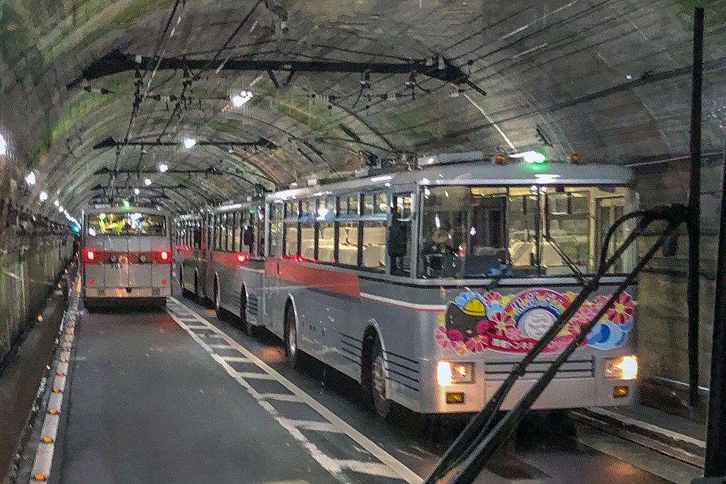 Kanden Tunnel Trolleybus