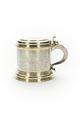 Kanna av delvis förgyllt silver med lock, handtag och fotring - Skoklosters slott - 91933.tif