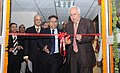 Kapil Sibal inaugurating the Next Generation Network (NGN) lab, in New Delhi on January 21, 2013. The Secretary (Telecommunications), Shri R. Chandrashekhar is also seen.jpg